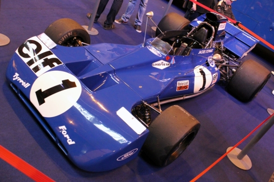 The 1971 world championship winning Tyrell 003.
